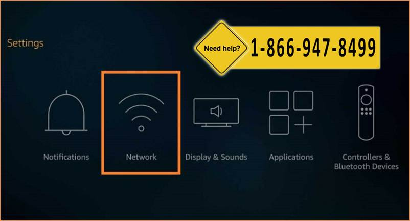 Connect Fire Stick to WiFi Network