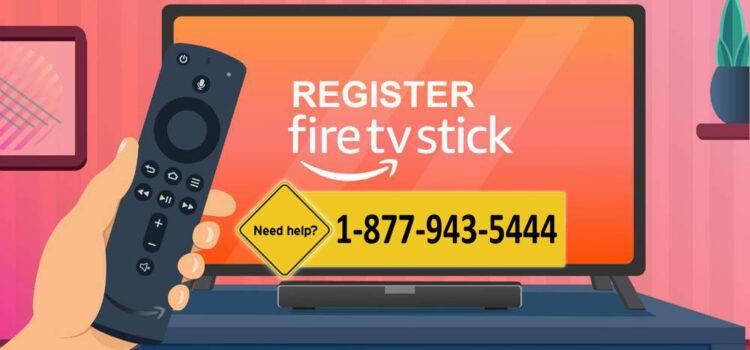 Register Fire Stick