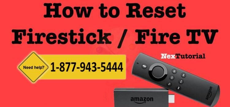 Reset Fire TV