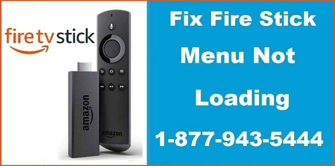 Fire Stick Menu Not Loading