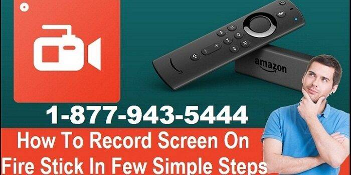 Record Screen On Fire Stick